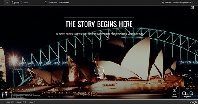 ¿Os apetece visitar La Casa de la Ópera de Sídney?